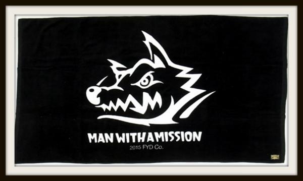 MAN WITH A MISSION ダイナマイト タオル 3