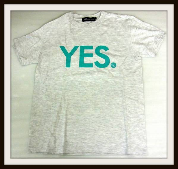 MAN WITH A MISSION YES. コラボ Tシャツ グレー 2