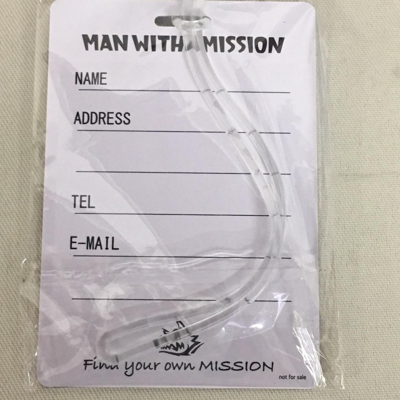 MAN WITH A MISSION ラゲッジタグ