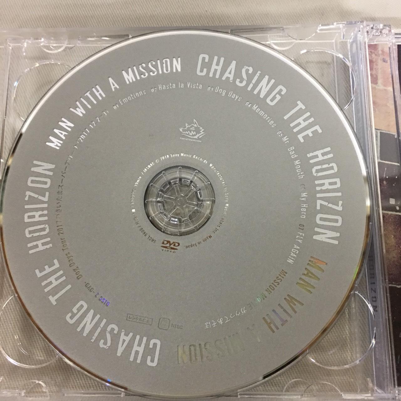 2MAN WITH A MISSION マンウィズのニューアルバム Chasing the Horizon