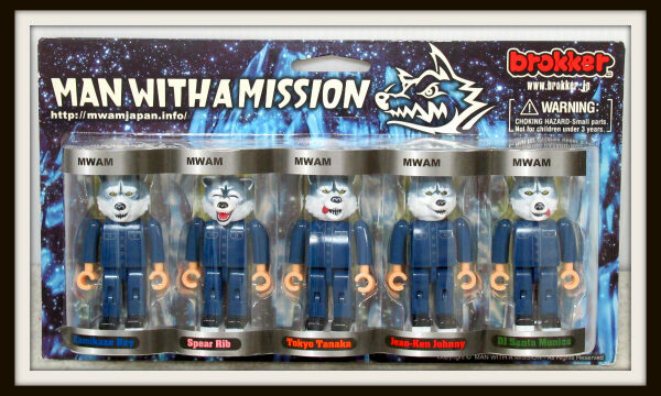 MAN WITH A MISSION×brokker TOYS1