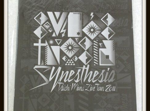 三浦大知 DAICHI MIURA LIVE TOUR 2011 〜Synesthesia〜 パンフレット