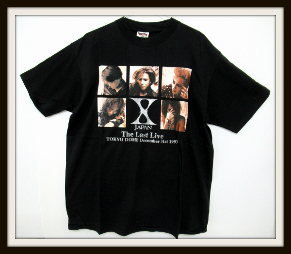 X JAPAN The Last Live 1997 TOKYO DOME Tシャツ