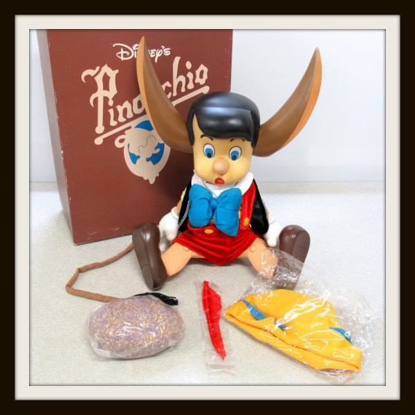 WORTHFIELD社 ピノキオ フィギュア ビックサイズ ソフビ 人形 ディズニー