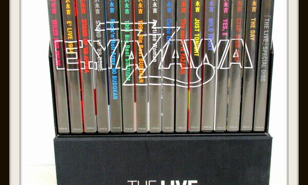 矢沢永吉 THE LIVE EIKICHI YAZAWA DVD-BOX 16枚組