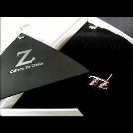 Collecte de Zikzin Z ピアスピンク