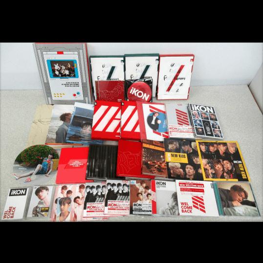 iKON CD DVD プレイボタン等