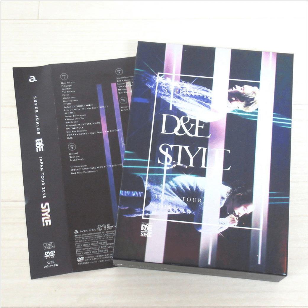 D&E JAPAN TOUR 2018 ~STYLE~ DVD/初回生産限定盤