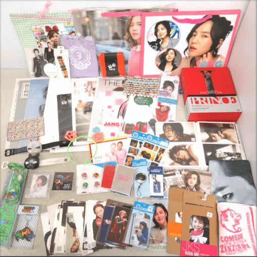 チャン・グンソク グッズセット/タオル/DVD/パンフレット/ミニトートバッグ/ポストカードなど大量
