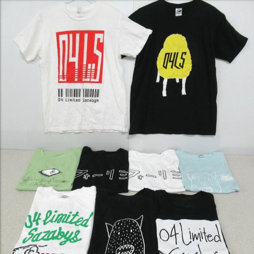 04 Limited Sazabys Tシャツ