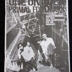 ONE OK ROCK 写真集 PRIMAL FOOTMARK