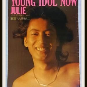 YOUNG IDOL NOW 【JULIE】1973 沢田研二特集 ポスター付