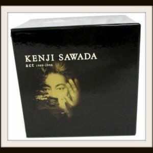 沢田研二 act 1989-1998 CD-BOX
