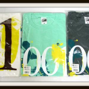 UNISON SQUARE GARDEN 001 Tシャツ&タオル