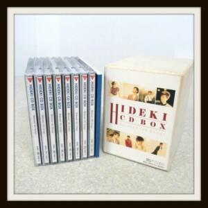 HIDEKI CD-BOX Beloved 120 Songs CD8枚組 シリアルナンバー入 西城秀樹