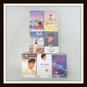 カセットテープ BLUE SKY夏の誘惑NEW YORK GIRL心で聞いたバラード 西城秀樹
