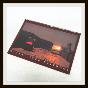 HIDEKI 1986 CALENDAR 西城秀樹カレンダー
