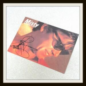 西城秀樹直筆サイン入りパンフ Misty HIDEKI SUMMER TOUR 1985 ツアー